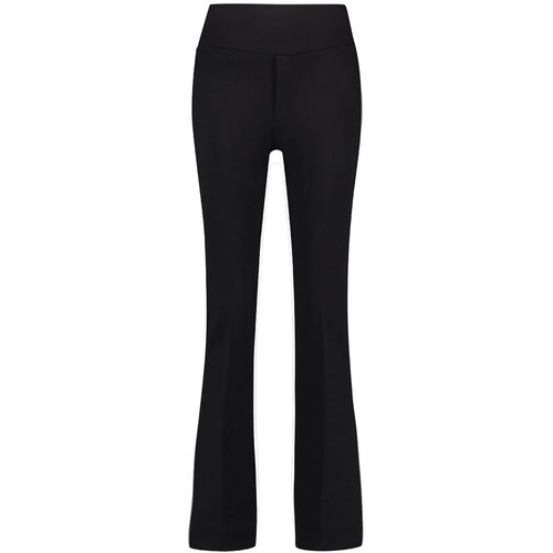 Chiarico Chiarico Trousers City Flare Black