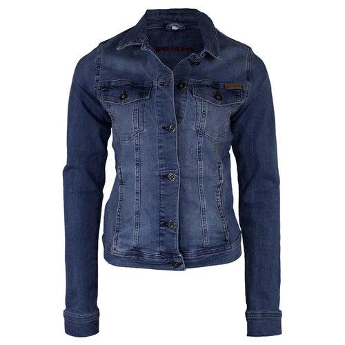 Bluefire BlueFire Jeans Jacket Stonewashed