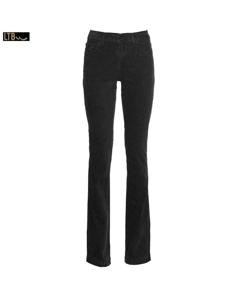 LTB Jeans Fallon Ribcord Zwart