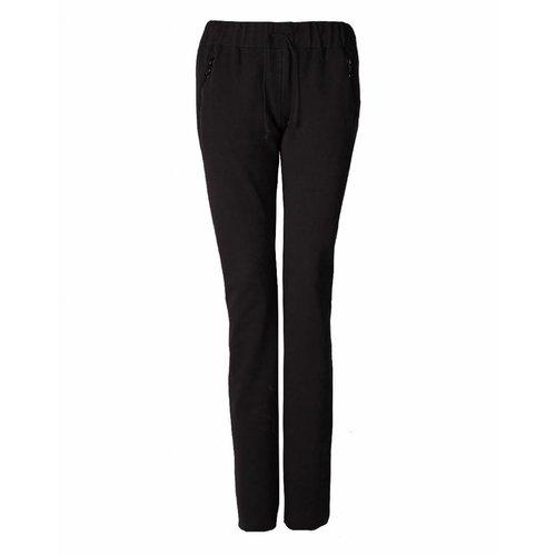 Longlady LongLady Sporttrousers Sharda Soft Black