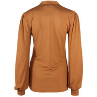 Longlady Shirt Tinia Camel