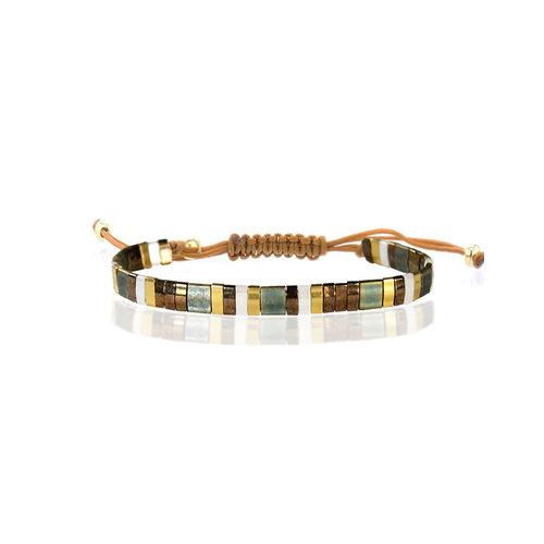 Lovely Bracelets Armbandje Tila Iwakuni smaragd