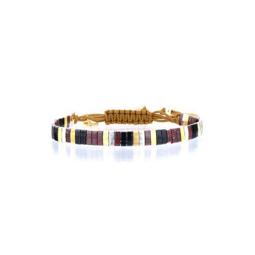 Lovely Bracelets Armbandje Tila Kyoto koraal