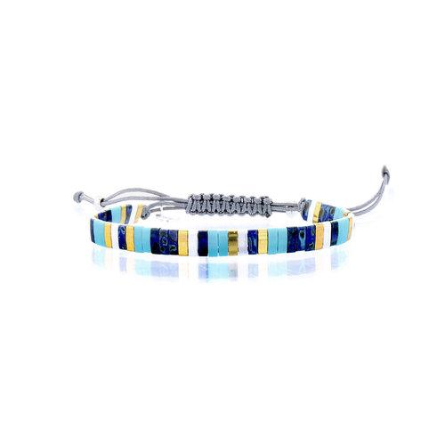 Lovely Bracelets Armbandje Tila Kyoto turqoise