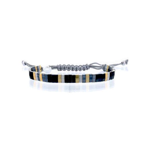 Lovely Bracelets Armbandje Tila Kyoto onyx
