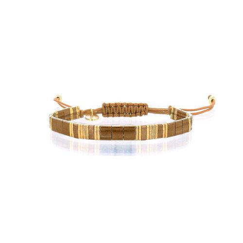 Lovely Bracelets Armbandje Tila Himeji bronziet