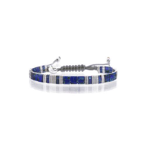 Lovely Bracelets Armbandje Tila Himeji lapis silver
