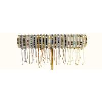 Armbandje Tila Himeji onyx silver
