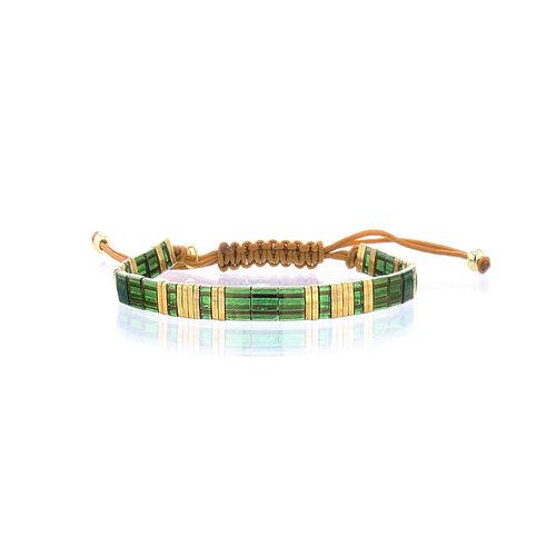 Lovely Bracelets Armbandje Tila Himeji smaragd