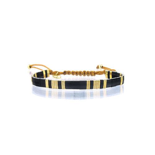 Lovely Bracelets Armbandje Tila Himeji onyx