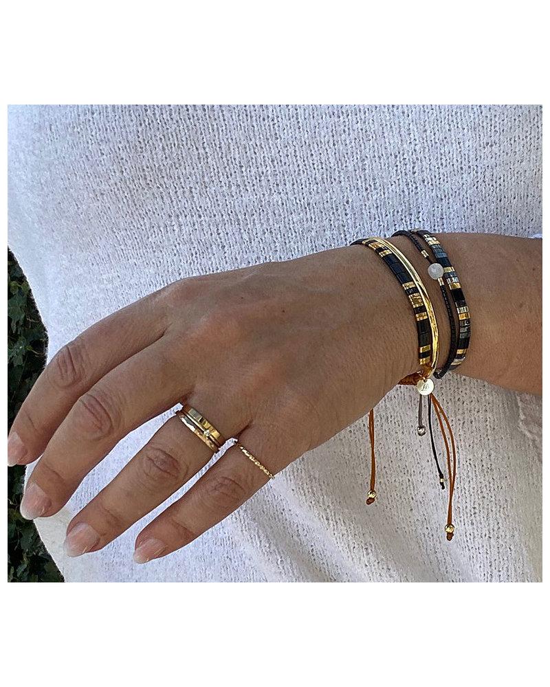Armbandje Tila Himeji onyx