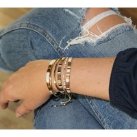 Armbandje Tila Tokyo bronziet