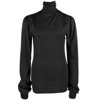 Longlady Shirt Tooske Zwart