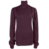 Longlady Shirt Tooske Pruimrood