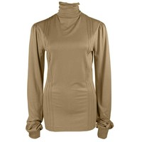 Longlady Shirt Tooske Camel