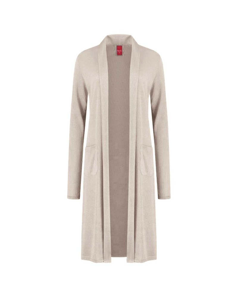Only-M Vest Cashmere Sabbia