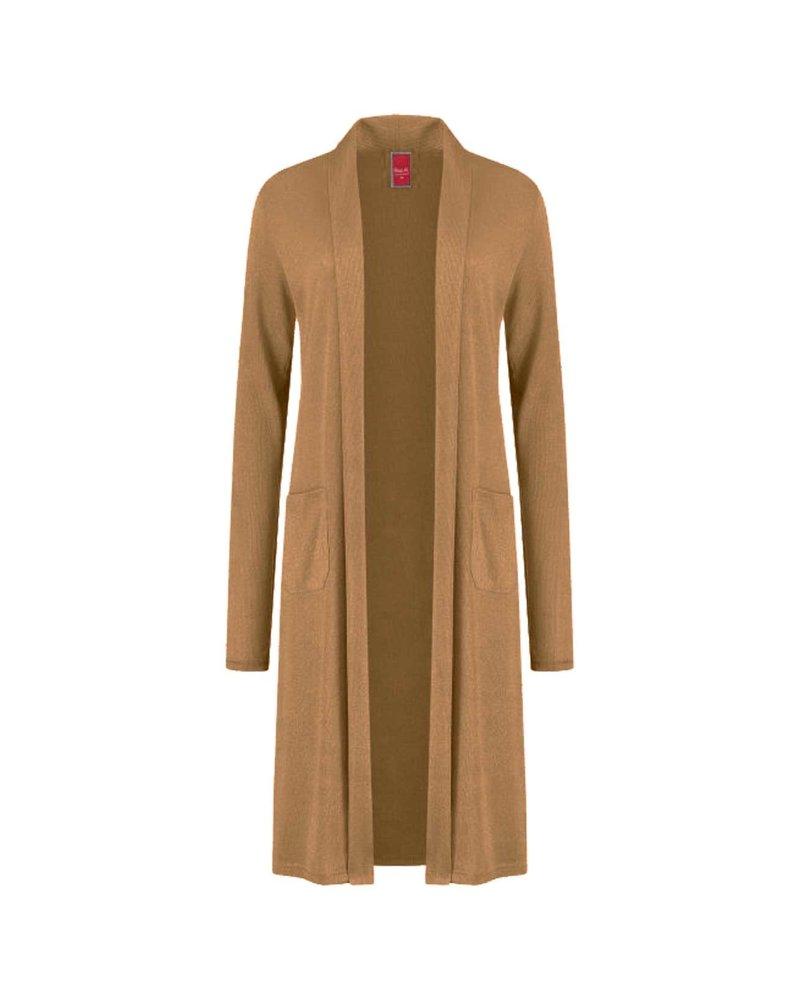 Only-M Vest Cashmere Camel