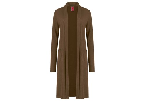Only-M Only-M Cardigan Cashmere Tobacco