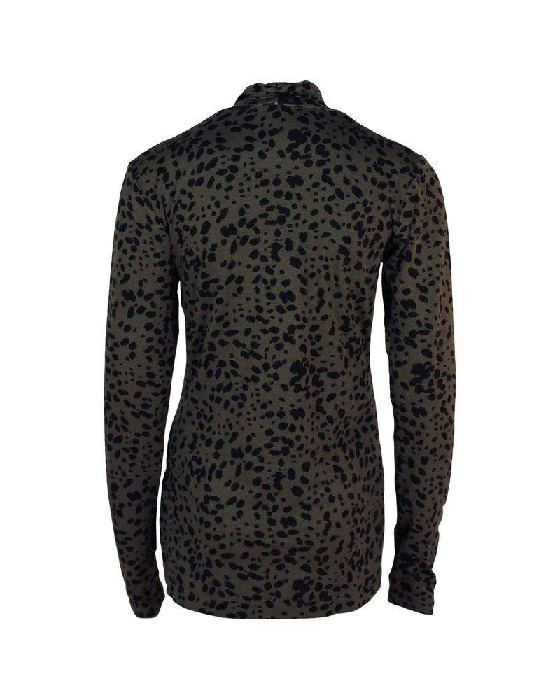 Longlady Shirt Tina Leopard