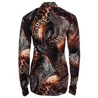 Longlady Shirt Tina Bruin Animal