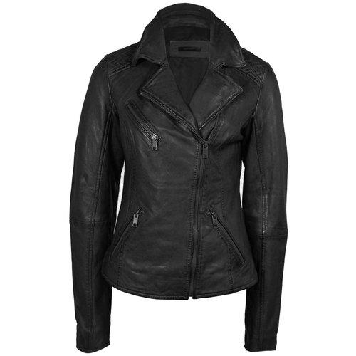Deercraft Deercraft Bikerjacket Leather Black