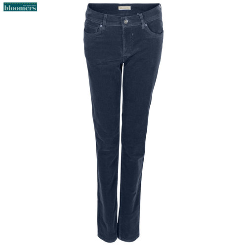 Bloomers Bloomers Jeans Alina Ribcord Blauw