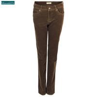 Bloomers Jeans Alina Ribcord Bruin