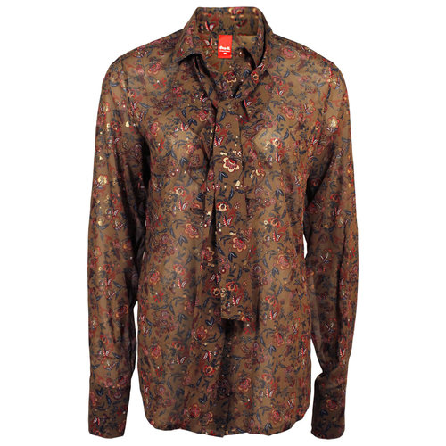 Only-M Only-M Blouse Orvieto Brown