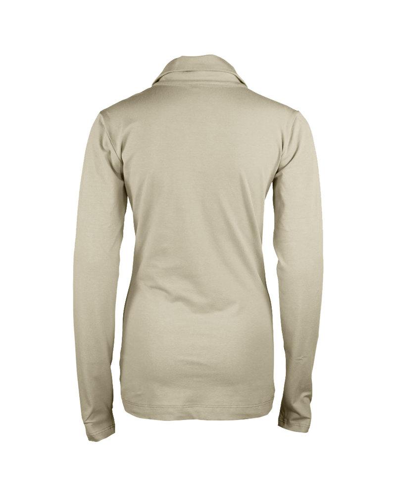 Longlady Shirt Trixie Creme