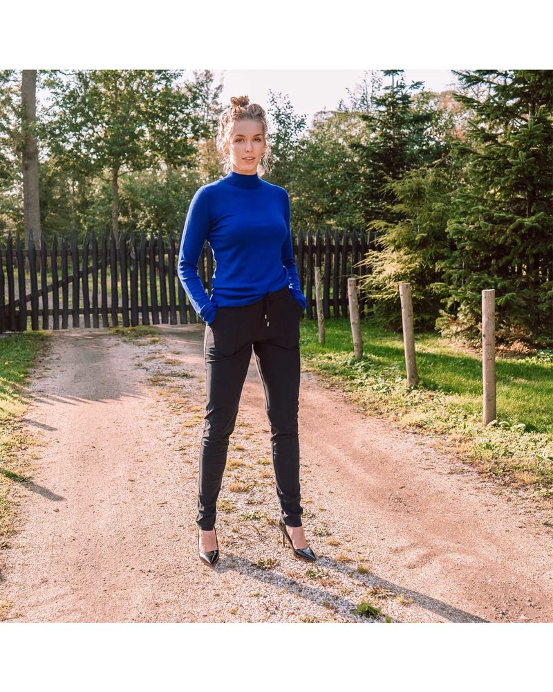 Only-M Broek Sporty Strong Navy