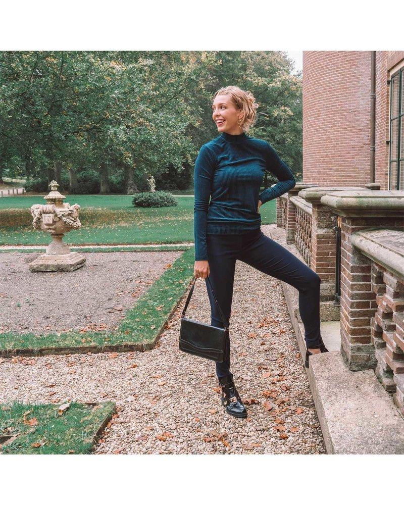 LongLady Broek Nathalie Donkerblauw
