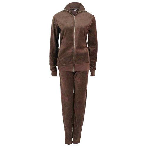 Longlady Longlady Homewear Suit Soraya Brown