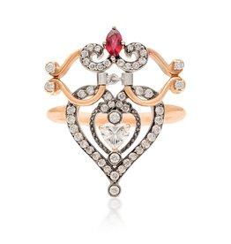 Artalana Empress Heart Ring