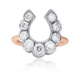 Luck At First Sight Ring in Rose Gold
