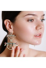 Alezan By SK Shanhan Eden Pagoda Earring
