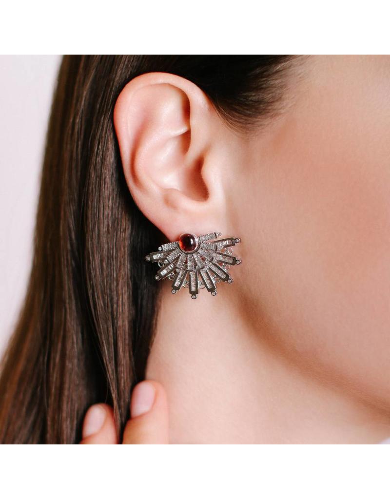 Shanhan 5-Way Earrings With Diamonds