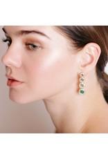 Shanhan Moon Earrings in Bonsai