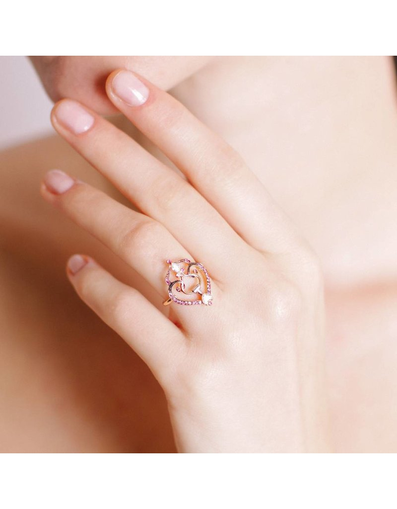 Artalana Falabella Ring Pink
