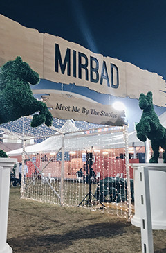MIRBAD: MEET ME BY THE STABLES