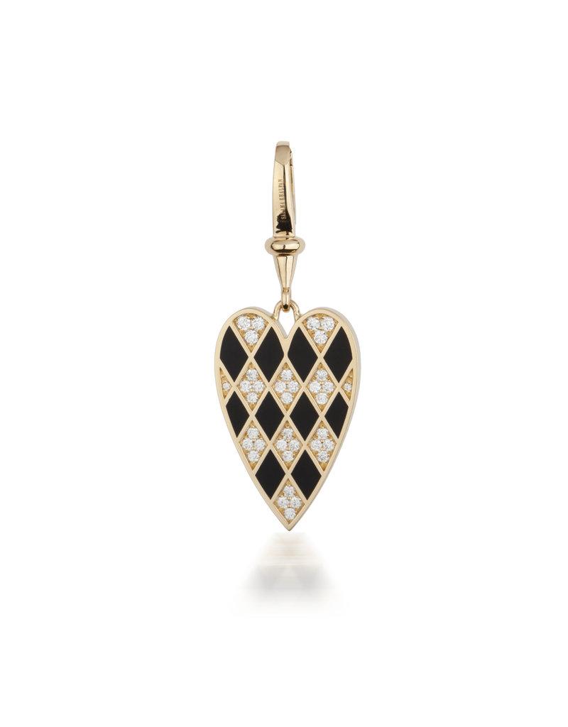 Calliope Carnival  Heart  Charm