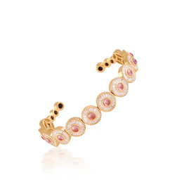 Shanhan Moon Bangle in Cherry Blossom