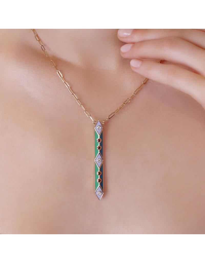 Calliope Harlequin Necklace
