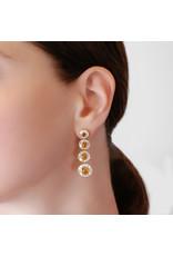 Shanhan Moon Earrings in Narcissus