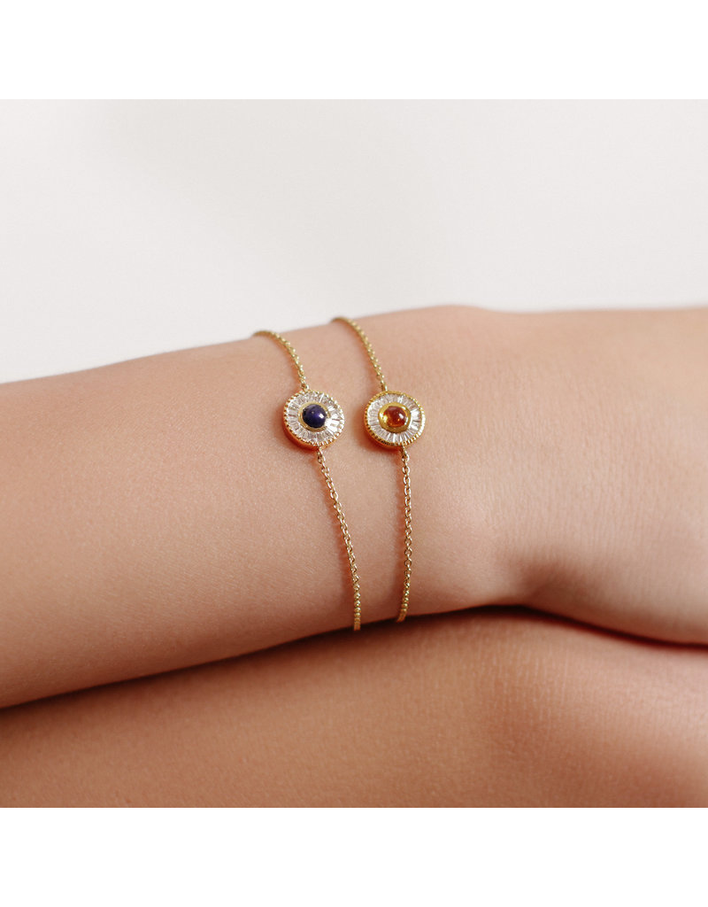 Shanhan Moon Single Motif Bracelet in Cherry Blossom