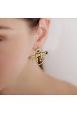 Shanhan String Dancer Earrings Cherry Blossom