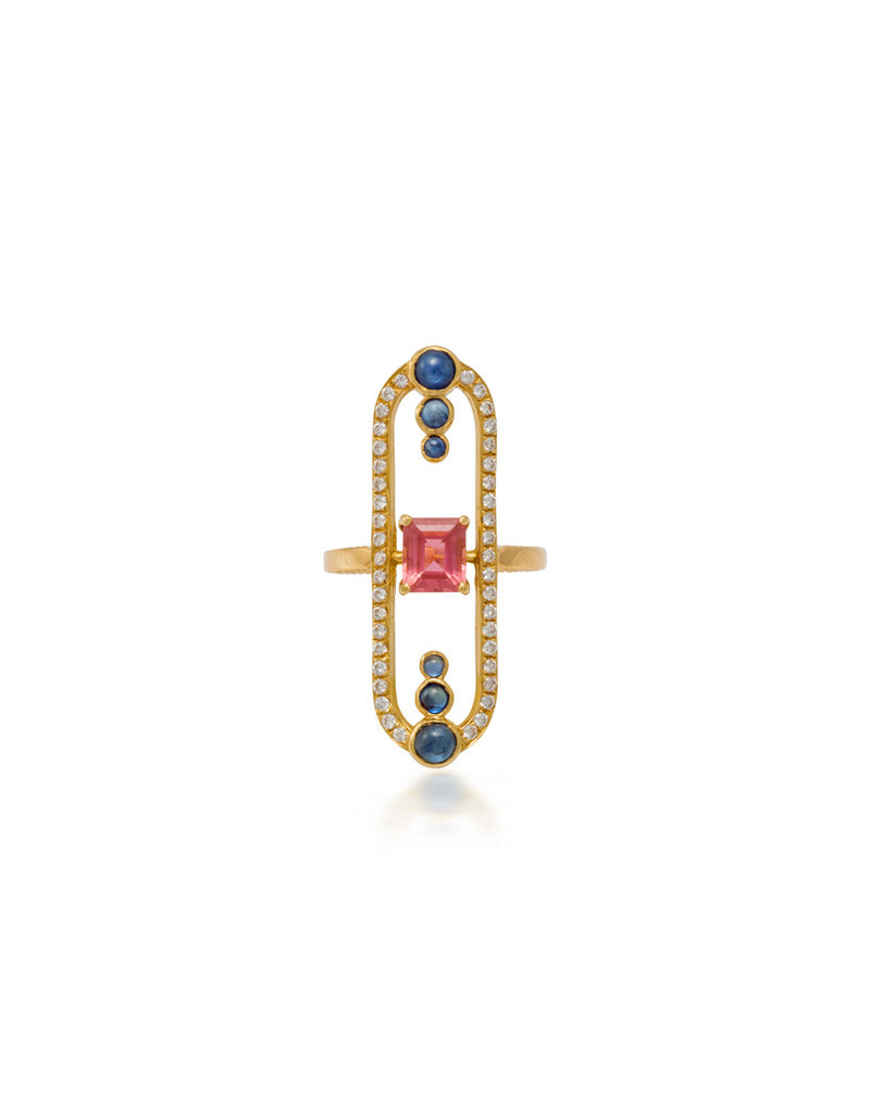 Shanhan String Dancer Weiqi Ring Cherry Blossom