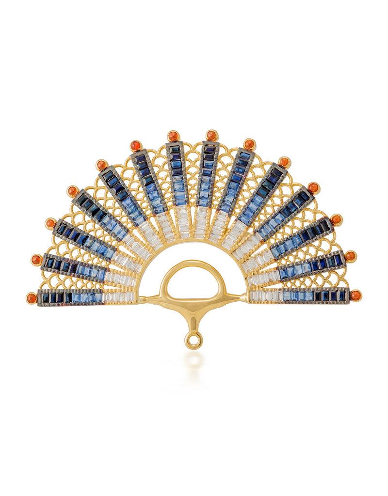 Shanhan Reining Fan Ring Peacock