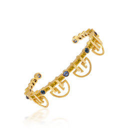Shanhan String Dancer Bangle in Narcissus Without Diamonds