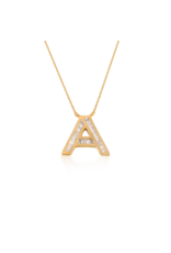 Spell My Love Pendant Letter A