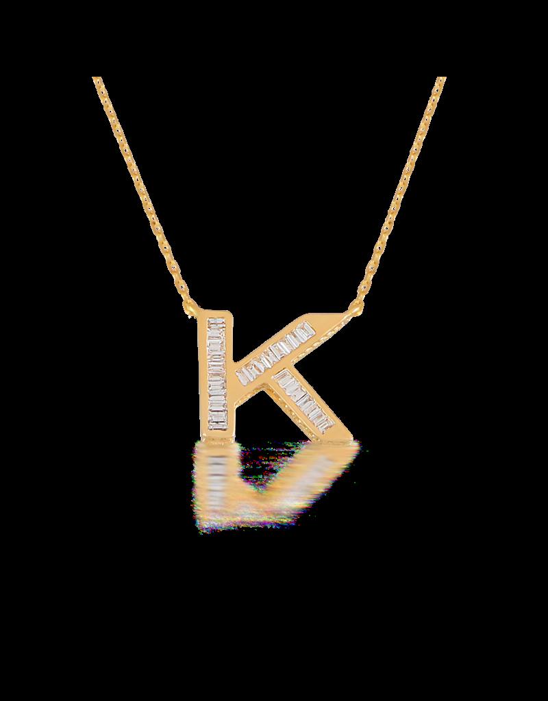 Spell My Love Pendant Letter K